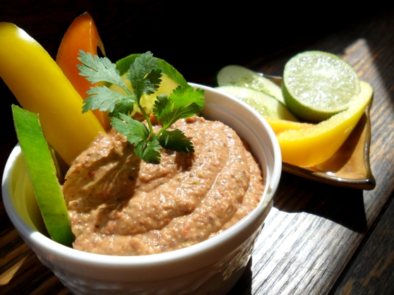 Spicy Black Bean Chipotle Hummus