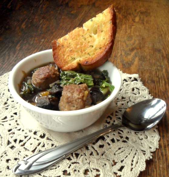 Vegetarian Meatball Stew