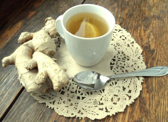Lemon and Ginger Immunity Boosting Tea